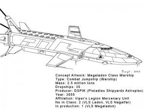 concept megaladon